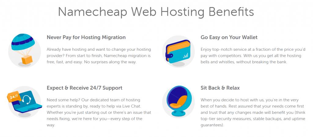 Benefits of Namecheap Hosting