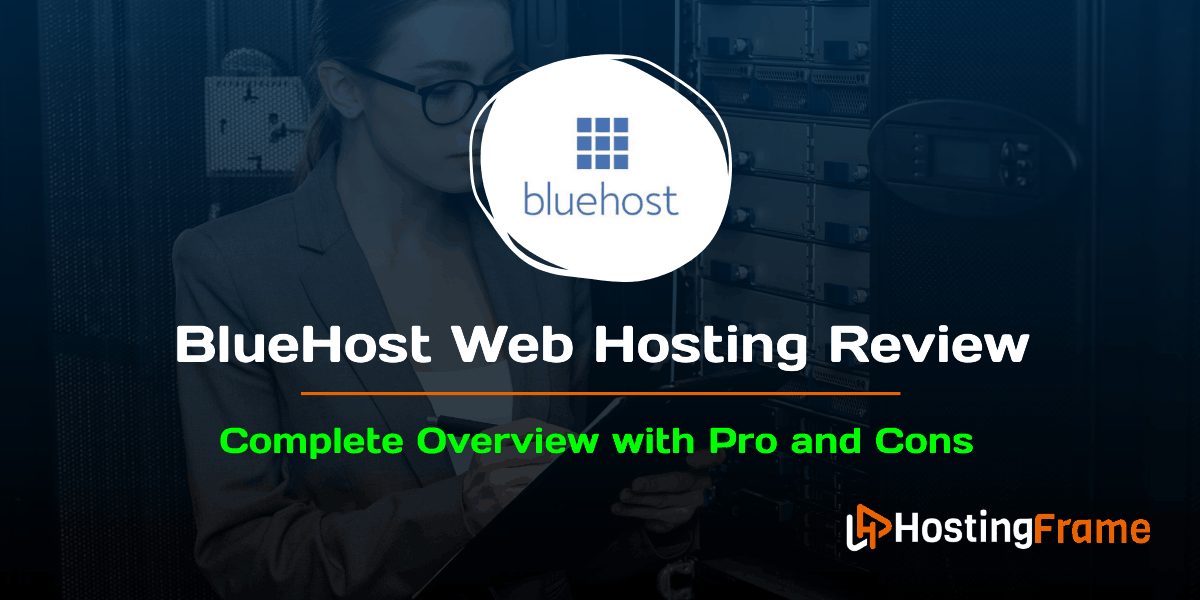 Bluehost Web Hosting Review Complete Overview