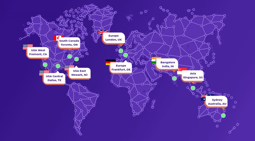 HostArmada Server Locations