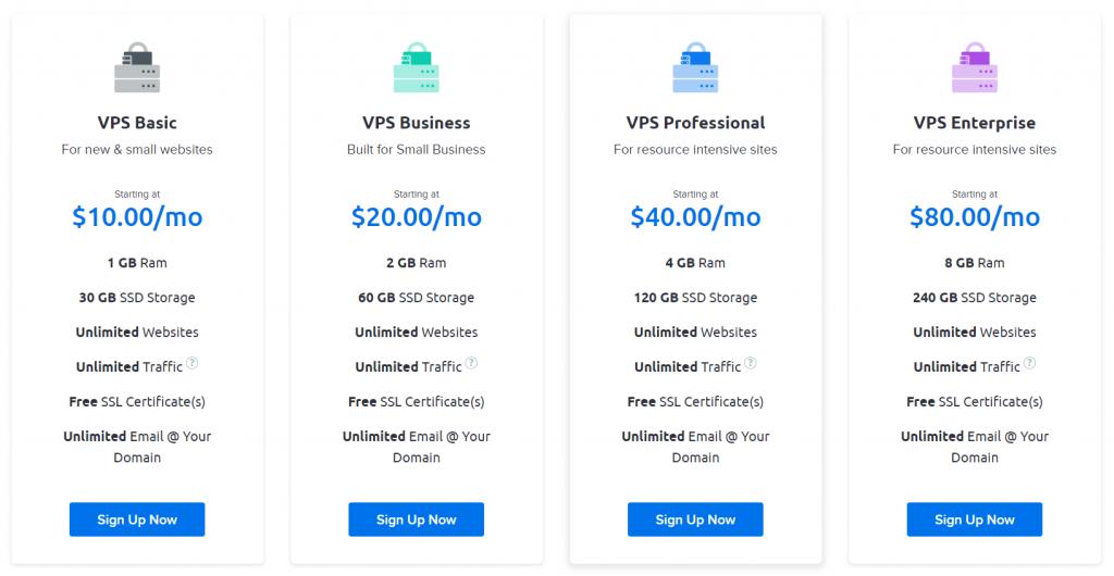 DreamHost Hosting VPS Hostng Plan