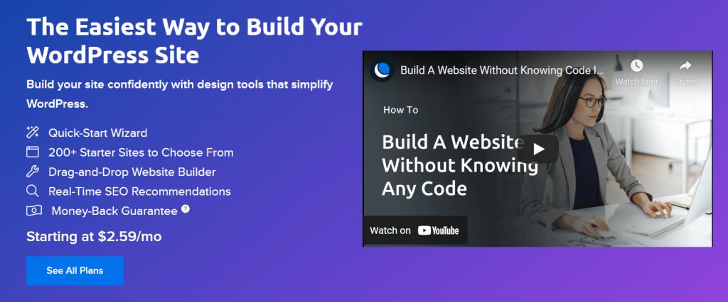 DreamHost Website Builder