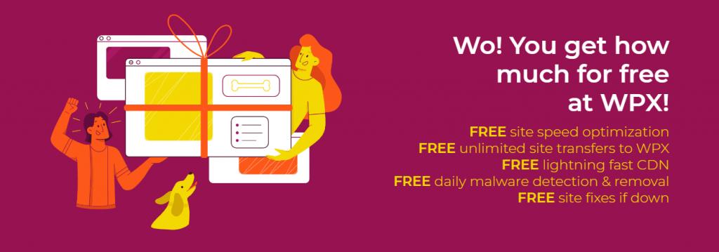 WPX Hosting FREEBIES