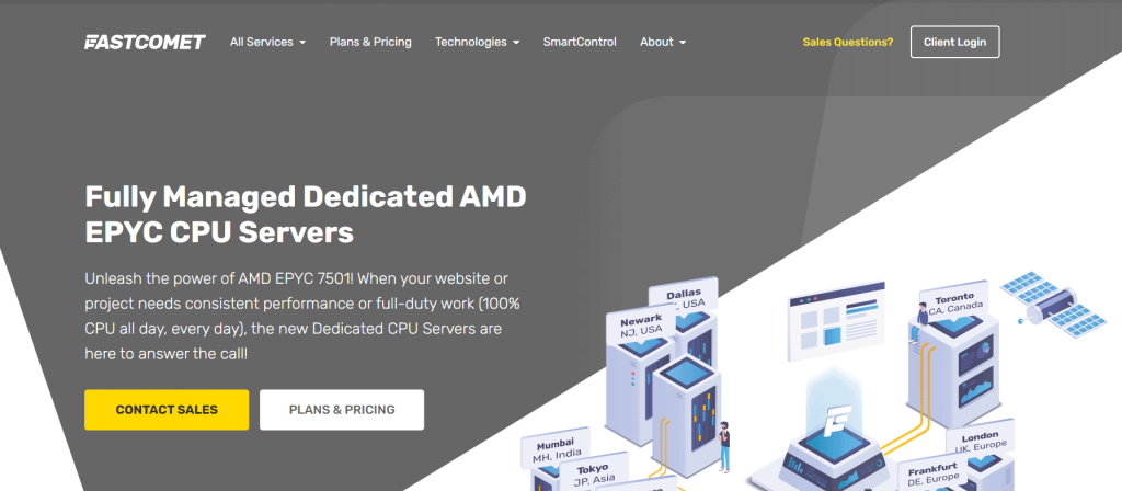 fastcomet dedicated hosting