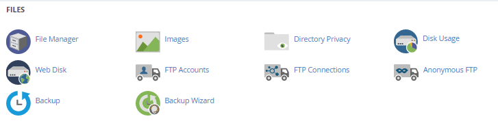 FTP Account in cPanel