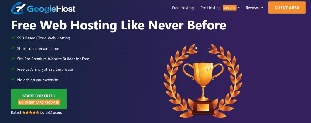 GoogieHost Free Web Hosting Provider