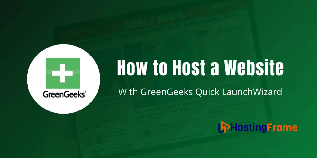 How to Host a Website with GreenGeeks