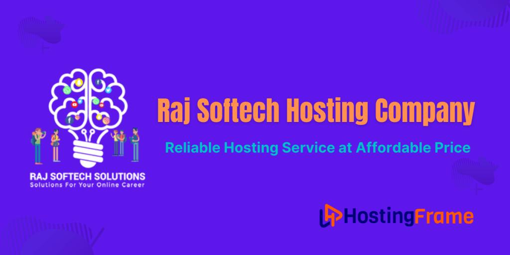 Raj Softech Hosting Review